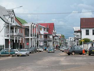 Stadsbeeld Paramaribo