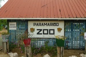 Paramaribo ZOo entrance